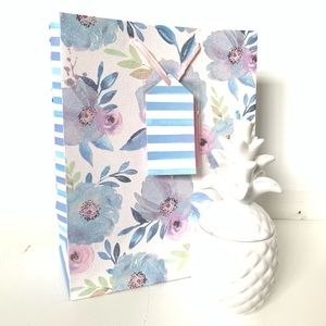 Other - ★ CUTE BOTANICAL BLUE/COLORFUL FLORAL GIFT BAG